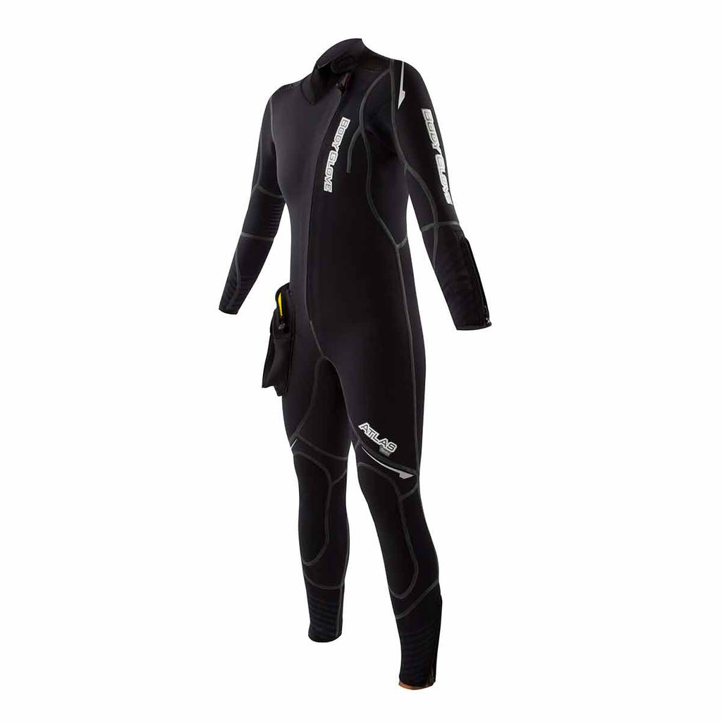 Women's 5mm Atlas Front Zip Dive Wetsuit with Modular Hood