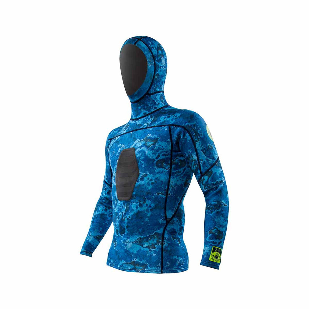 1mm Free Dive Hooded Shirt