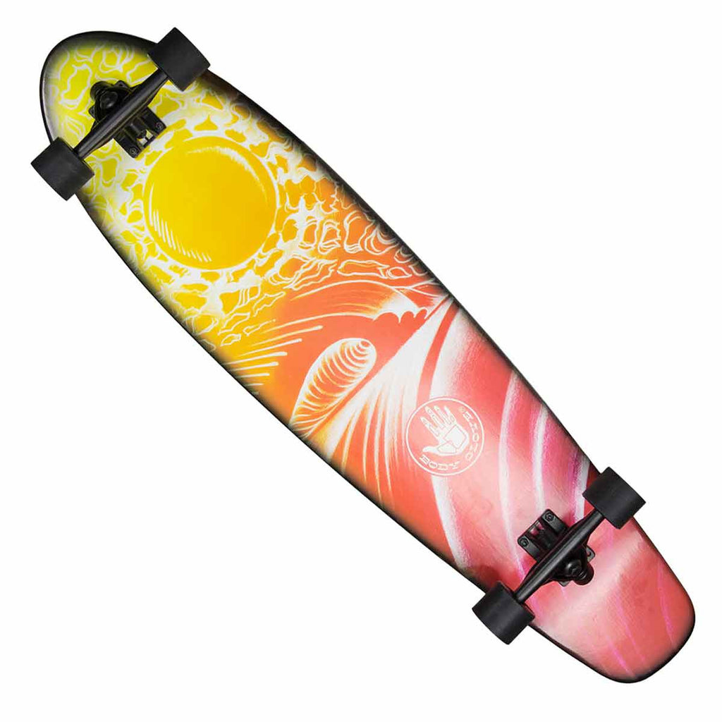 "40"" Eclipse Kick Tail Longboard Skateboard"