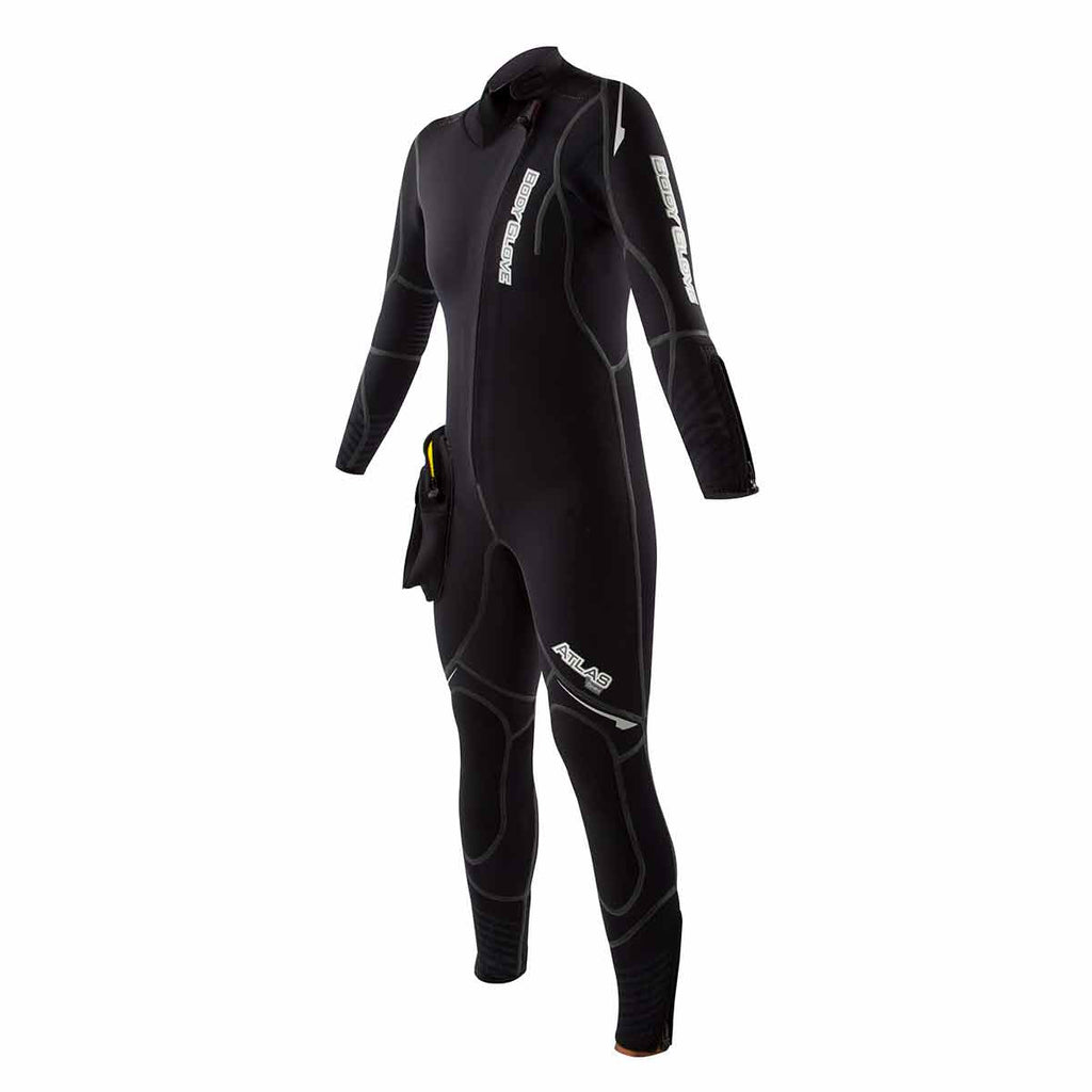 5mm Atlas Front Zip Dive Wetsuit with Modular Hood