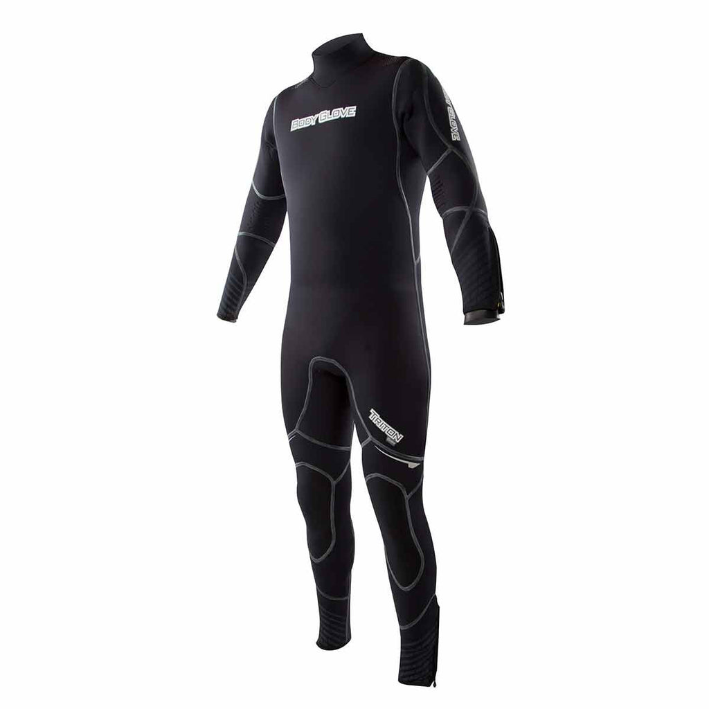 5mm Triton Back Zip Dive Wetsuit
