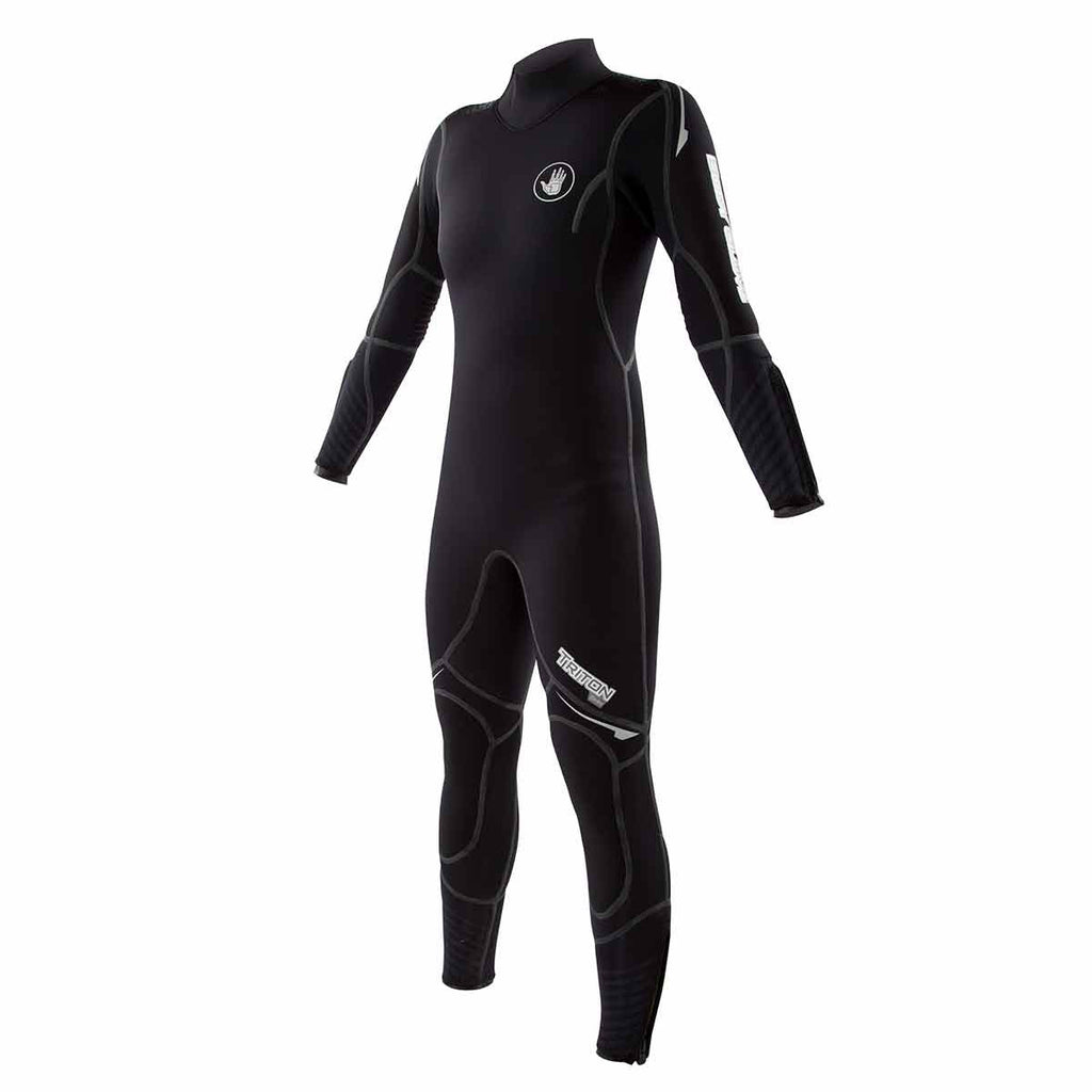 Women's 5mm Triton Back Zip Dive Wetsuit