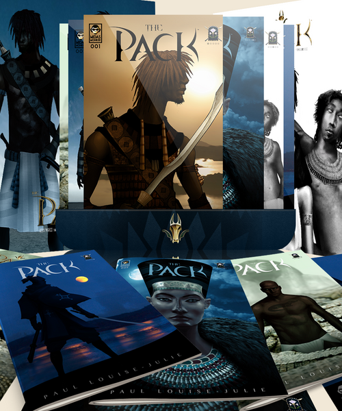 The Pack Issues 1-6 (Print + Digital)
