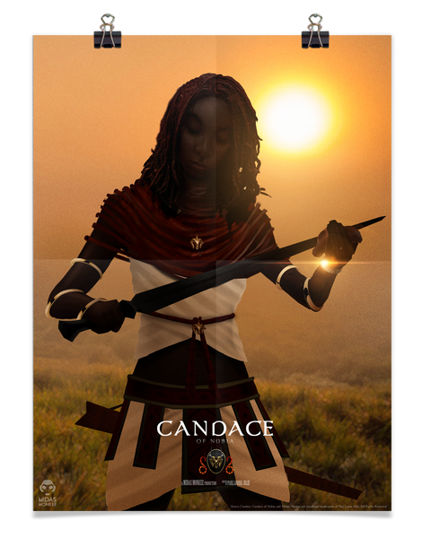 Candace of Nubia Poster