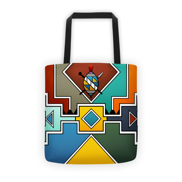 Ndebele Crest Tote bag