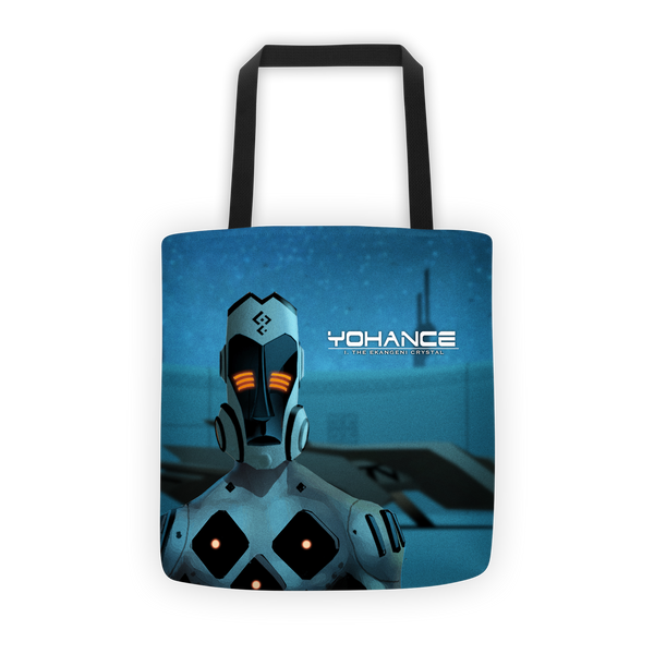 Yohance Blue Tote bag
