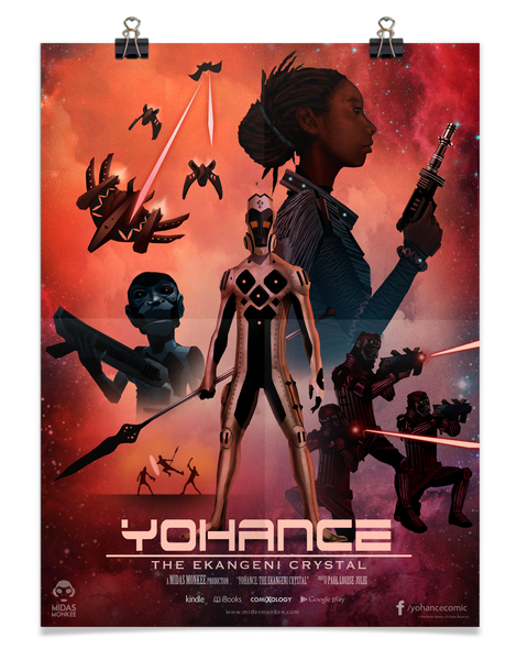 Yohance & the Ekangeni Crystal Poster