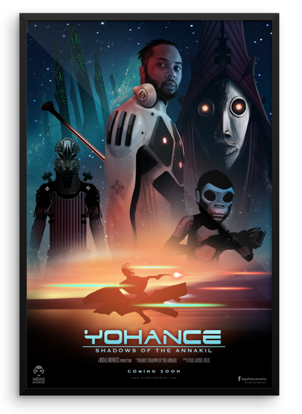 Yohance: Shadow of The Annakil Framed poster