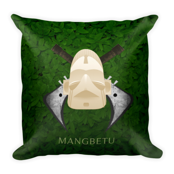 Mangbetu Pillow