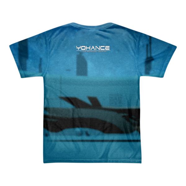 Yohance Blue All-Over T-Shirt