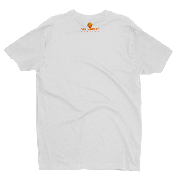 Orange Drumpf head t-shirt