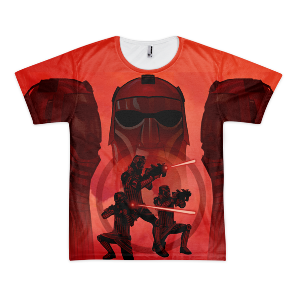 Kinzane Warrior All Over T-Shirt