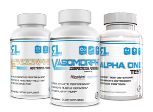 Relentless Labz Stack: Vasomorph X Endorphin X Alpha One Test