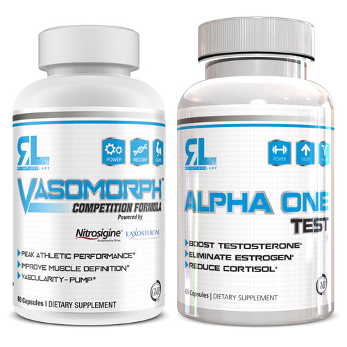 Relentless Labz Stack: Alpha One Test x Vasomorph