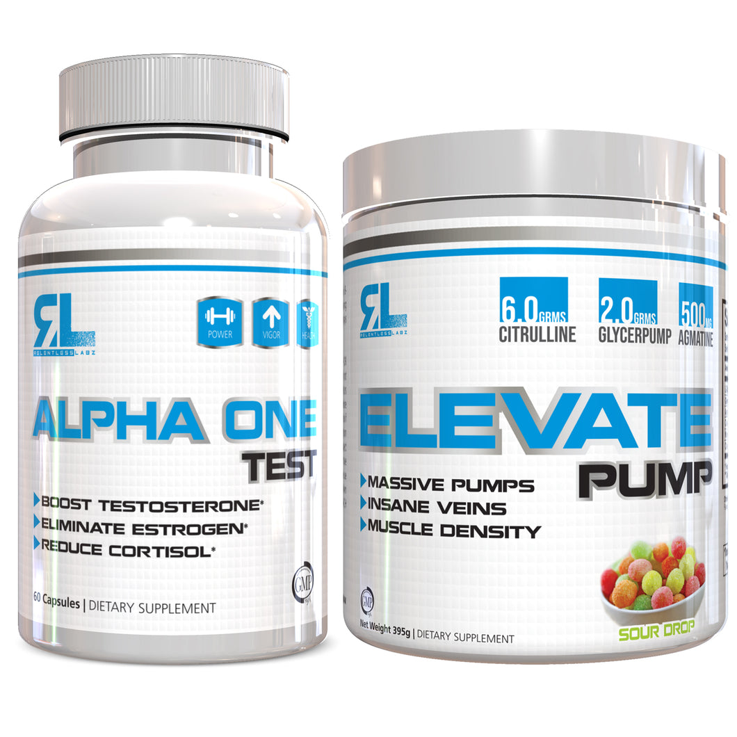 Relentless Labz Stack: Elevate Pump x Alpha One