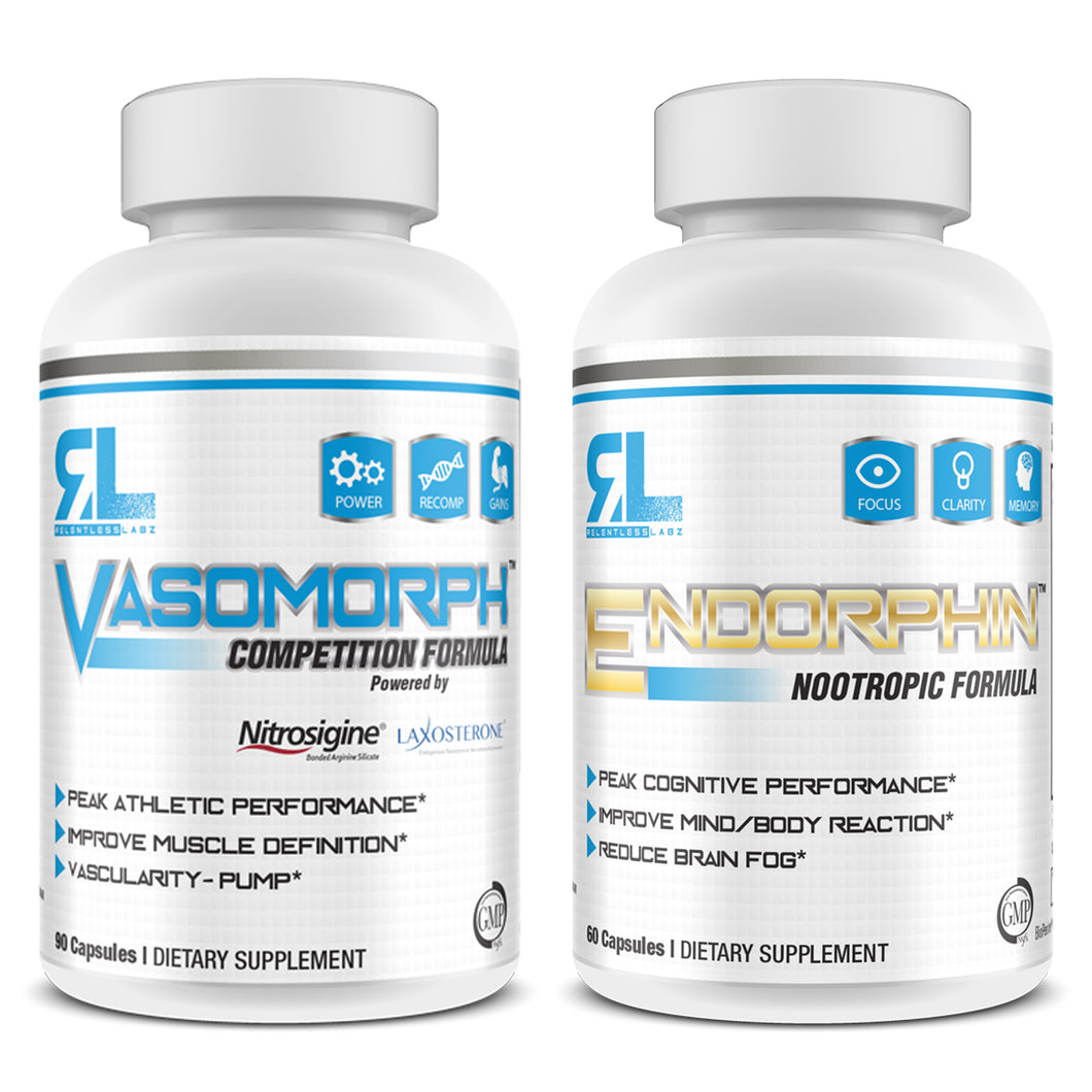 RELENTLESS STACK: VASOMORPH X ENDORPHIN