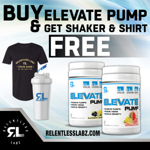 Relentless Labz: Elevate Pump