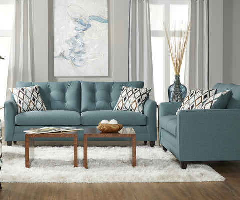 Hughes 11900 Sofa & Love Wexler Splash