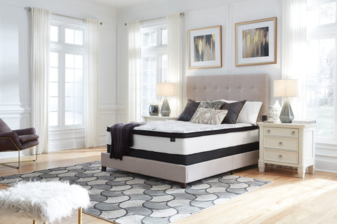 "Ashley Sierra Sleep 12"" Chime Hybrid Mattress & Foundation set"