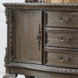 Crown Mark 2151-SB-GY Kiera Sideboard Grey