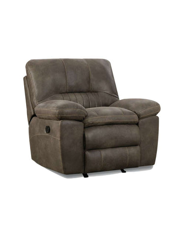 Corinthian 26803-10R Rocker Recliner: Commander Steel
