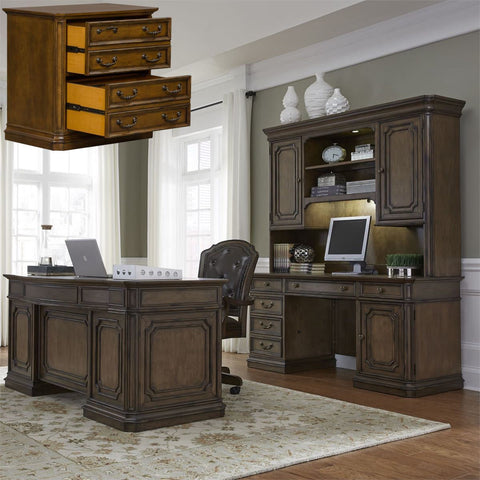 Liberty 487 Amelia Jr Executive 6 PCS Desk