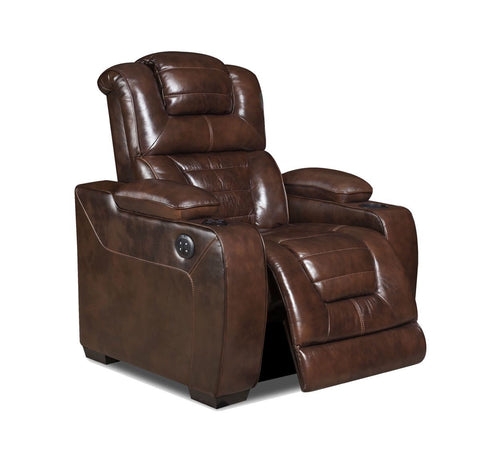 Corinthian 73901-19HRBT Power Recliner: Desert Chocolate