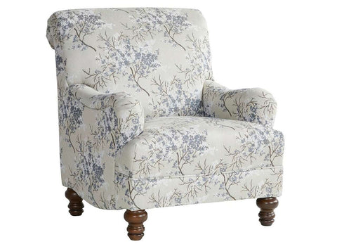 Hughes 85C Occasional Chair Cherry Blossom Cornflower