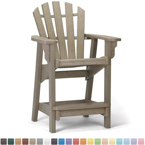 Breezesta CH-0805 Coastal Counter Chair - Dunlap Furniture