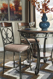 Ashley D329 Glambrey Counter Height Table w/ 4 Barstools - Dunlap Furniture