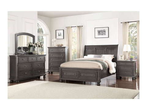 Avalon B01061 Soriah Storage Bed,Chest, Dresser, Mirror, (1)Nightstand
