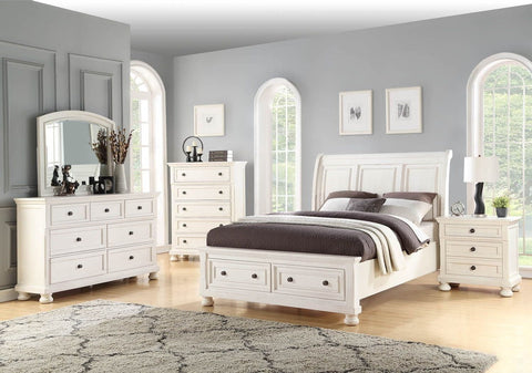 Avalon B01163 Stella Storage Bed,Chest, Dresser, Mirror, (1)Nightstand