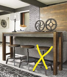 Ashley D440 Torjin 3 Pcs. Table & 2 Stools