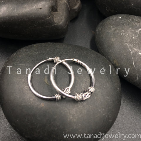 Silver Rings with Design - Small