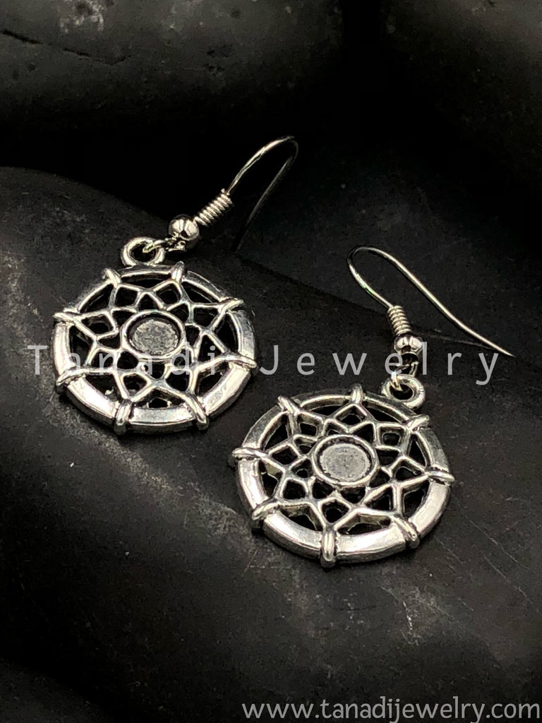 Trendy Oxidised Earrings - 7