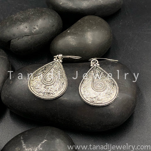 Trendy Oxidised Earrings - 8