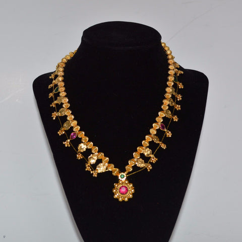 Kolhapuri Saaj - Necklace