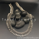 Long Oxidised Koiree Necklace - D3