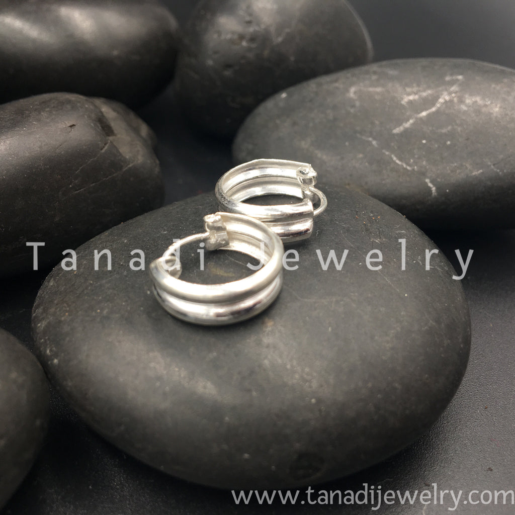 Silver Rings Plain - Small - 7