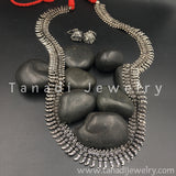 Long Oxidised Koiree Necklace - D1