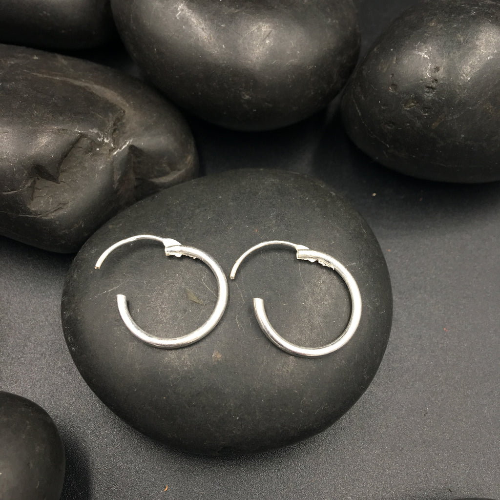 Silver Rings Plain - Small - 3