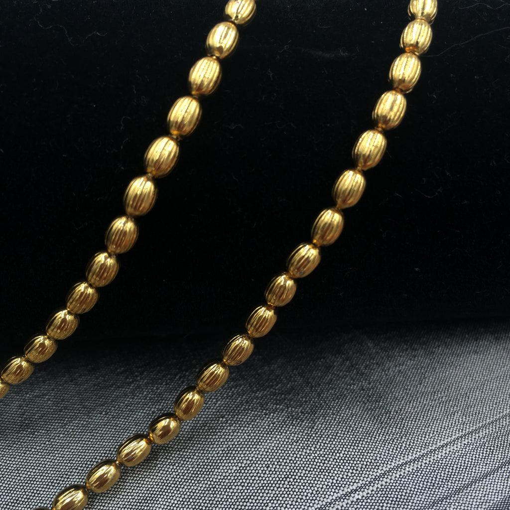 Payal - Delicate golden beads