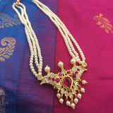 PTH Pearl Necklace with Pendant in different colors