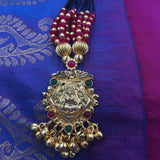 KOPM - Red stones with temple Necklace