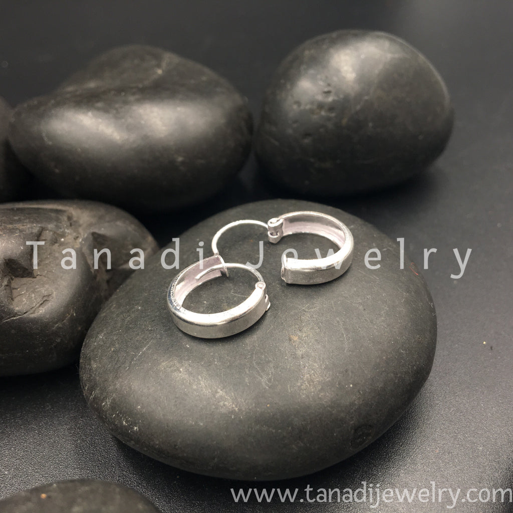 Silver Rings Plain - Small - 4