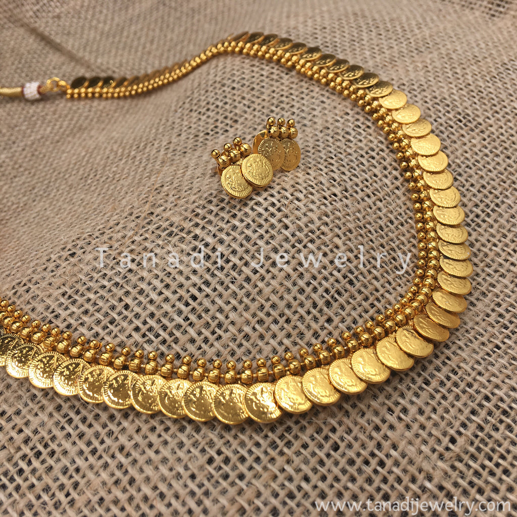 Long Coins Necklace