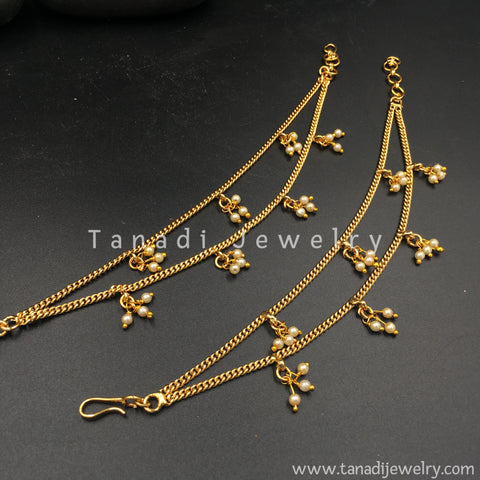 Golden Earchain with Moti Clusters - Two Layers
