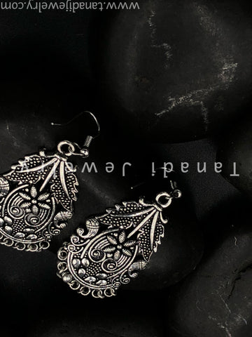 Trendy Oxidised Earrings - 10