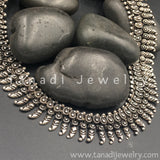 Long Oxidised Koiree Necklace - D2