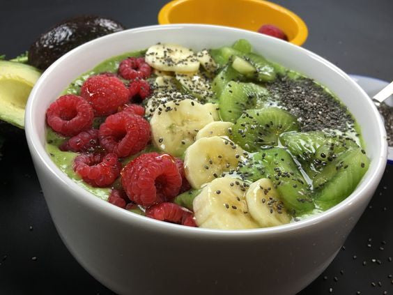 Avocado Kale Smoothie Bowl